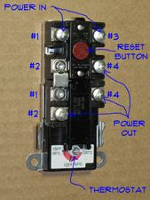 single element water heater thermostat wiring 45 wiring
