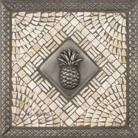 Kitchen Backsplash Mosaic Medallion Pineapple Kitchen Backsplash Tile Mosaic Medallion