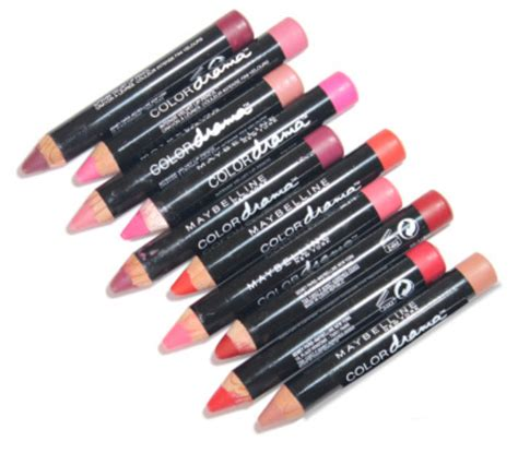 Maybelline Crayon maybelline velvet lip crayon with swatches