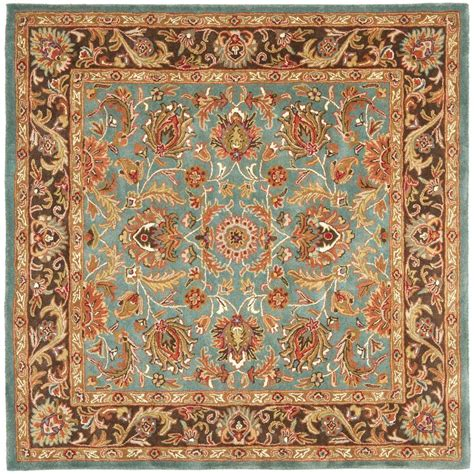 Rugs 6 Ft by Safavieh Heritage Blue Brown 6 Ft X 6 Ft Square Area Rug