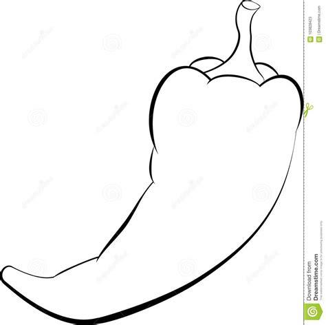 Chili Pepper Template
