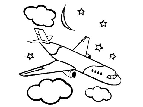 free how to draw aeroplane drawing for free printable airplane