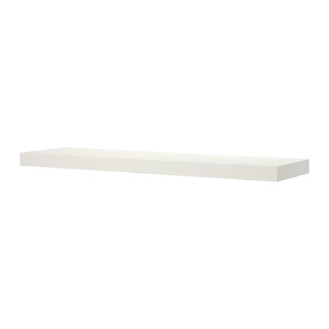 lack wall shelf white