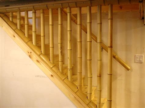 Bamboo Handrails 11 best images about bamboo railing on ropes balcony design and stairs