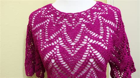 blusas de gancho blusa crochet paso a paso 1 de 2 youtube