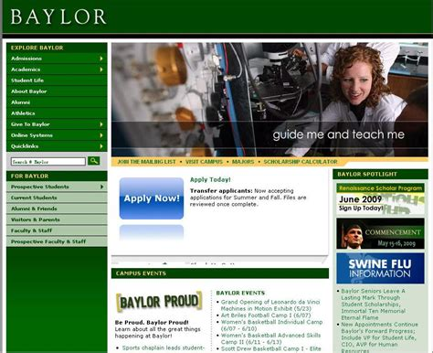 Cost Of Baylor Mba by Baylor Tuition And Fees 2009