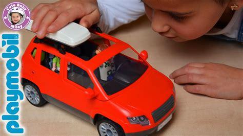 Auto Zusammenbauen by Playmobil Summer Fun Familienauto 5436 Unboxing Und