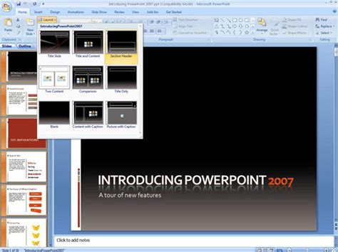 How To Apply Slide Masters In Powerpoint 2007 Dummies Slide Master Powerpoint 2007
