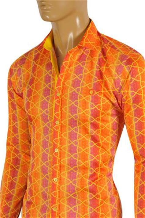 Polo Shirt Gucci Limited Edition Kode Pgcp 154 Size M L Xl mens designer clothes versace s dress shirt in orange 154