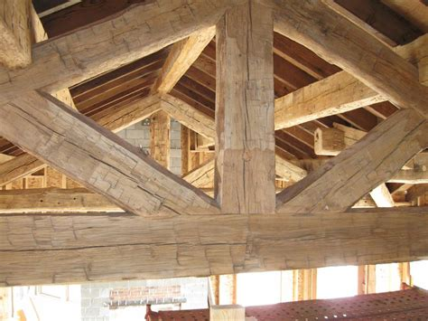 large timber trusses pinterest the world s catalog of ideas