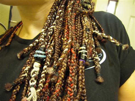 how to bead dreads glass dread bead