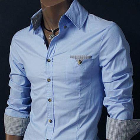 design a dress shirt uk mens designer stylish casual slim fit shirt