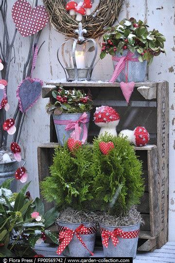 garten im winter dekorieren balkon im winter