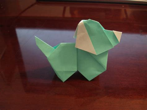 How To Make A Paper Puppy - origami