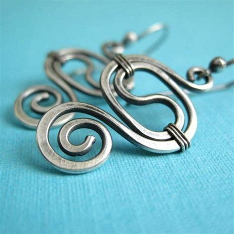 Handmade Wire Earrings Designs - best 25 handmade wire earrings ideas on wire