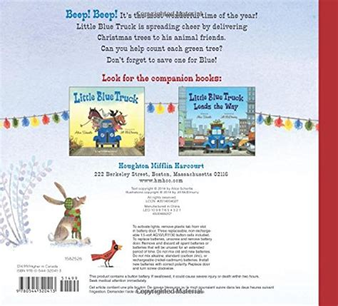 little blue trucks christmas 0544320417 little blue truck s christmas bnc
