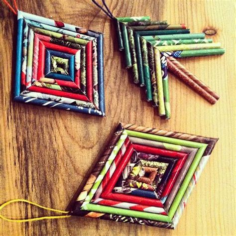 recycling ornament school prjuect ideas 30 amazing recycled diy ornaments do it yourself ideas and projects