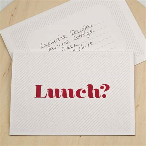 Lunch Card Template by 28 Business Invitation Designs Design Trends Premium