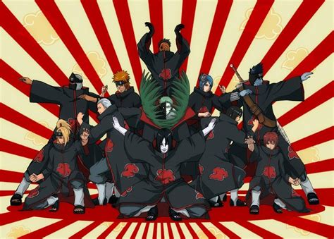wallpaper anime hd buat hp akatsuki wallpapers hd wallpaper cave