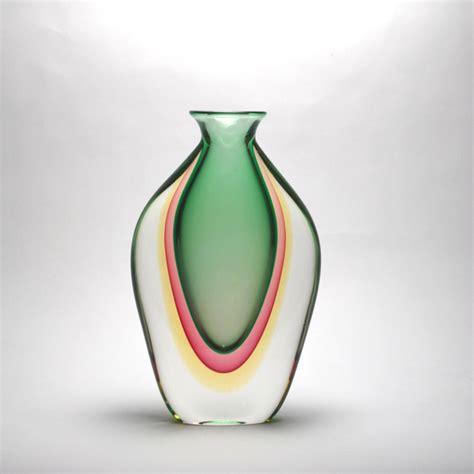 Murano Glass Vase Prices by Murano Vase Emerald Murano Glass Murano