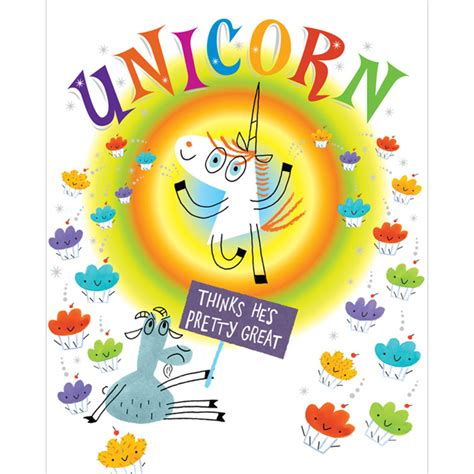 unicorn picture books unicorn thinks he s pretty great of a library