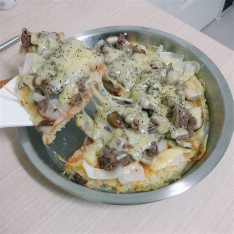 membuat pizza nasi tahukah anda sebenarnya anda boleh membuat pizza