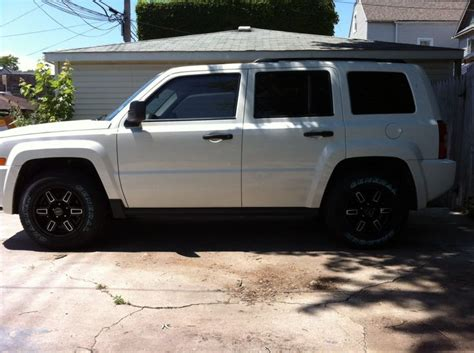 Jeep Patriot Tires And Rims Wheels On Jeep Patriot General Grabber Hts On New Wheels