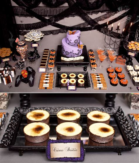 halloween themed desserts victorian halloween part 1 sweets table hostess with