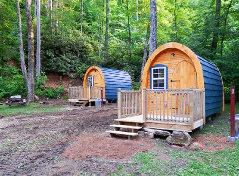 arched cabins uk catawba falls cground cabins are tiny hikers