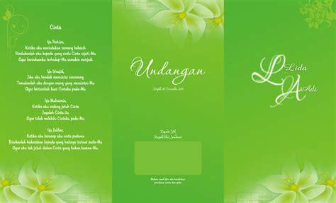 gambar desain lop contoh desain undangan pernikahan cantik desain undangan