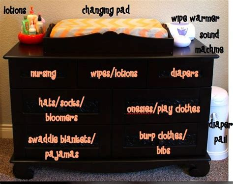 How To Organize A Dresser Drawer by Best 25 Organizing Baby Dresser Ideas On
