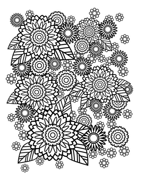 Coloring Book Stress Relief L