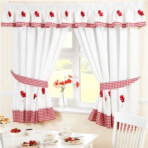 Kitchen Curtains Ready Made Kitchen Curtains Ready Made Curtain Panels Many Designs Ebay