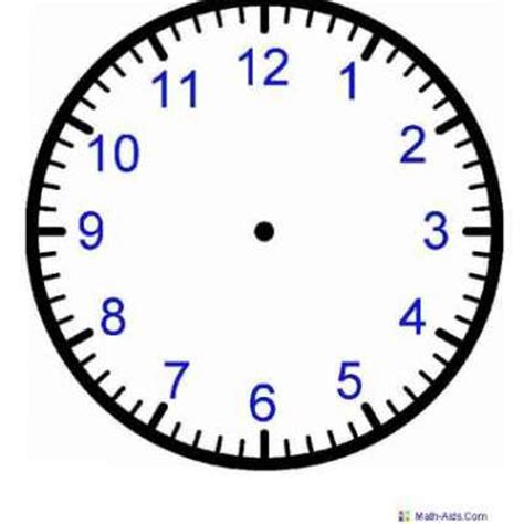printable clock clocks to print and make to tell time search results