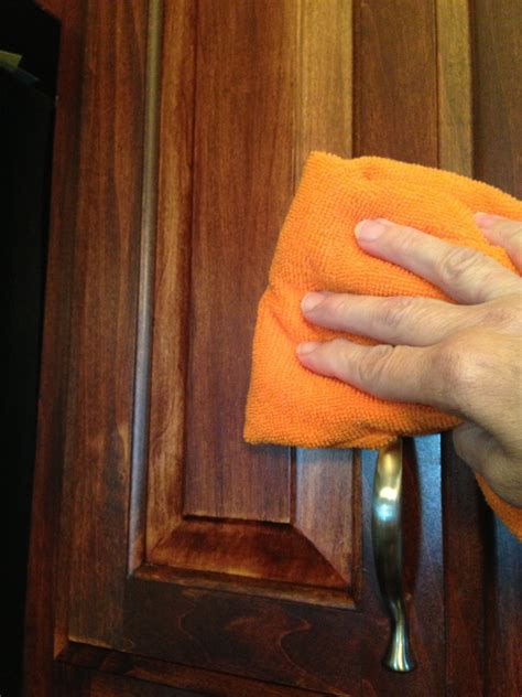 Cleaning Wood Kitchen Cabinets With Vinegar Quot Secrets From A Cleaning Quot Cleaner For Wood Cabinets