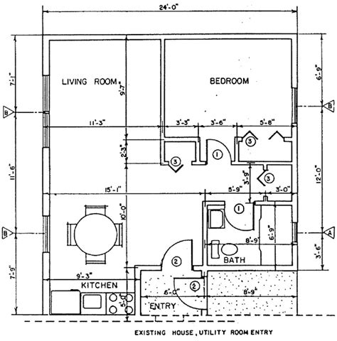 Free Home Addition Plans | independent living home addition building plans plan 1