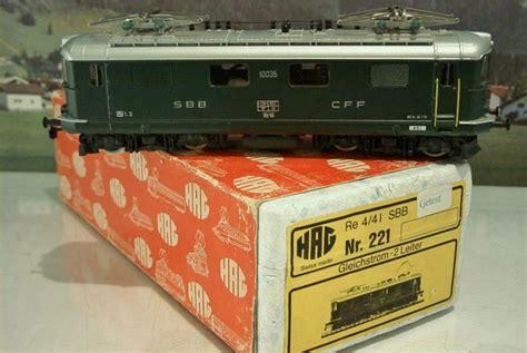 Expedition E 6665 hag h0 221 locomotive 233 lectrique suisse re 4 41 quot biel