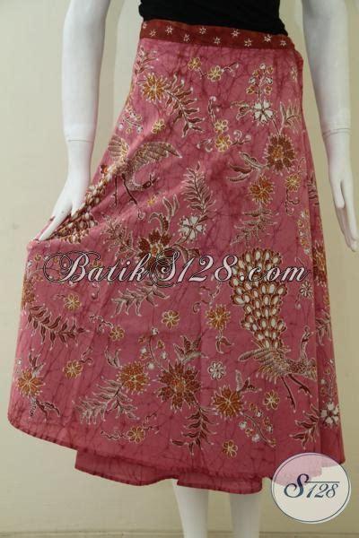 Hem Batik 042 rok lilit batik untuk wanita pekerja kantor rok batik