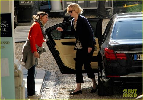 Kidman In On Set Car kidman grace of monaco set arrival photo