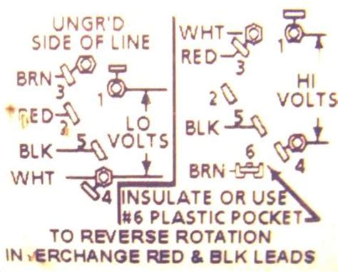 dayton 1 5 hp motor ph wiring diagram get free image