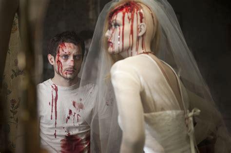 elijah wood horror movie bloody good horror horror movie reviews podcast news