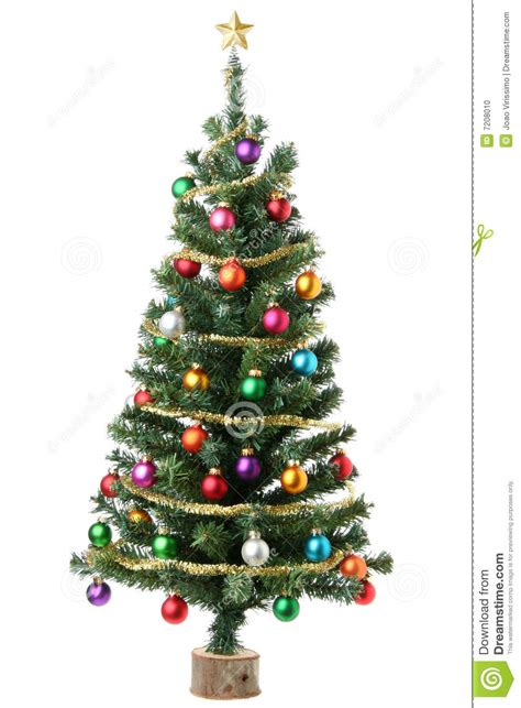 christmas tree stock photo image of multicolor happy