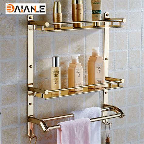 towel holder bathroom hanging wall mounted bathroom shelf stainless steel bathroom towel