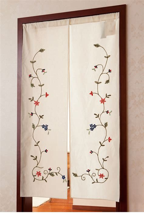 Bathroom Door Curtain » Home Design 2017