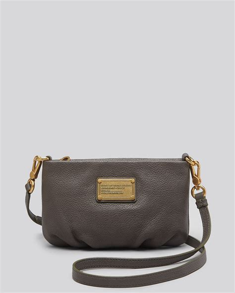 Marc By Marc Marc By Marc Miss Marc Canvas Zip Pouch by Marc By Marc Crossbody Classic Q Percy In Gray