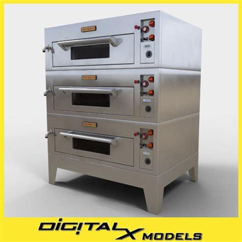 Comercial Kitchen Design 3ds Commercial Pizza Oven
