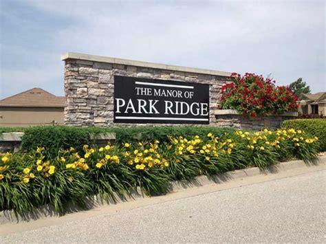 park ridge manor subdivision real estate homes for sale
