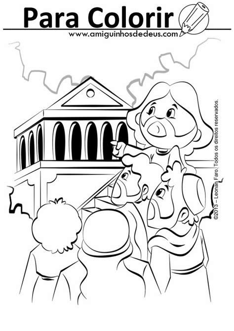 #Evangelho - Jesus fala da destruição do Templo - Lc 21,5