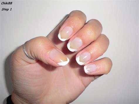 tutorial nail art elegant tutorial nail art french elegante