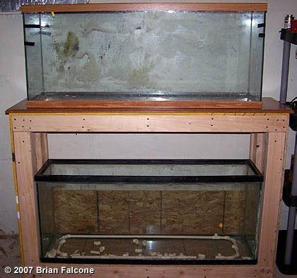 55 Gallon Stand 55 gallon stand aquarium stand plans fish tank